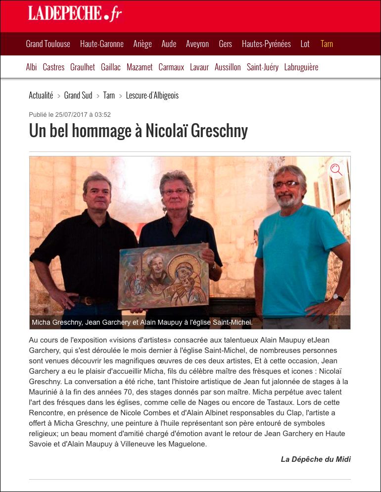 Hommage a Nicolai Greschny